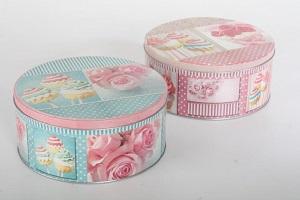 Caja de galletas o cupcakes