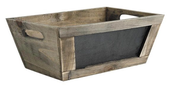 caja madera o macetero