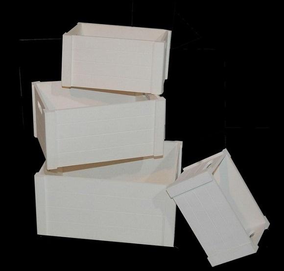 Lotes de navidad con cubos palanganas y cajas de madera tienda de decoraci n online y - Cajas de madera barcelona ...