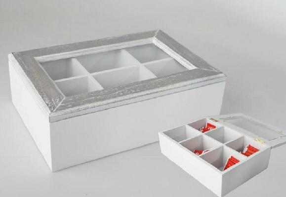 Caja para el té o infusiones