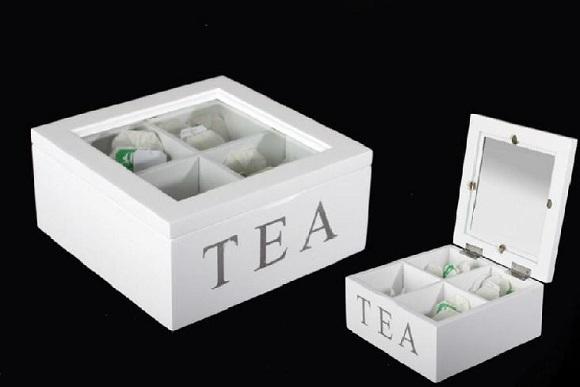 Caja para el té provenzal