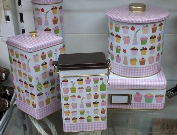 Botes de cocina vintage y cajas provenzales tienda de - Cajas para cocina ...