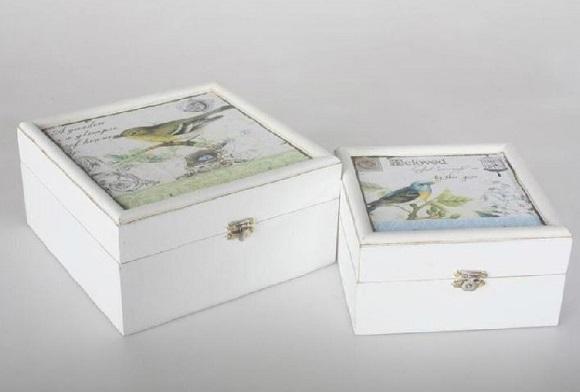 Caja decorativa provenzal