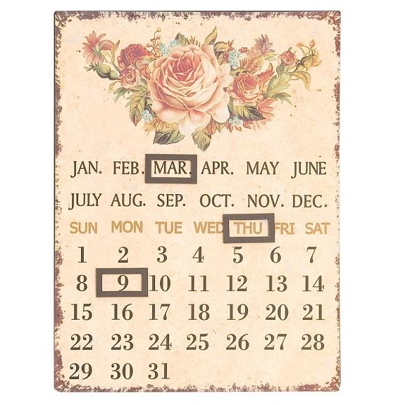 Calendario estilo provenzal