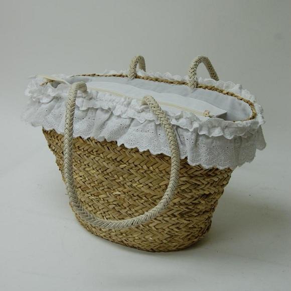 Decorar capazos de mimbre imagui - Como adornar cestas de mimbre ...