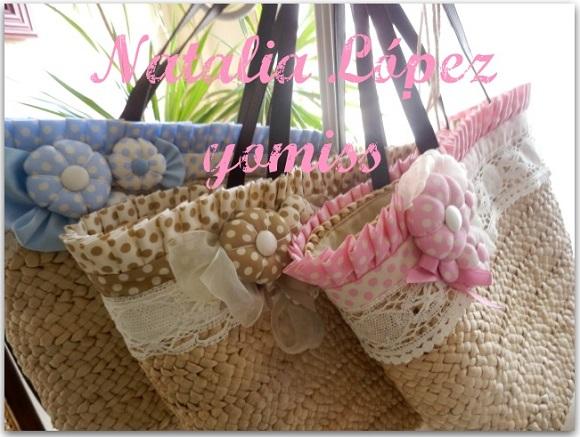 Como decorar capazos de mimbre imagui - Como adornar cestas de mimbre ...