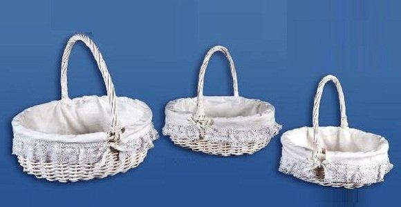 Como forrar una canasta para boda imagui - Como forrar cestas de mimbre ...