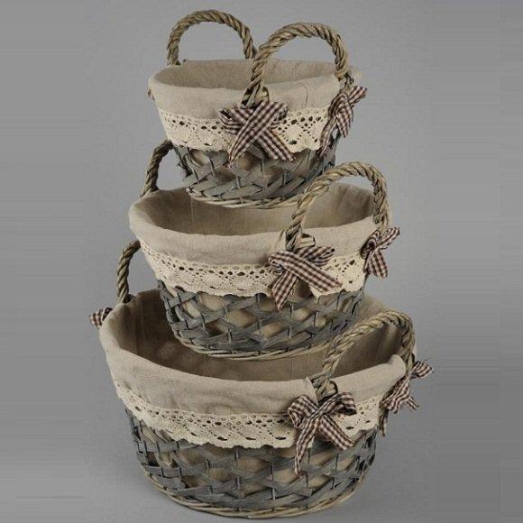 Como forrar cestas de mimbre imagui - Como forrar cestas de mimbre ...