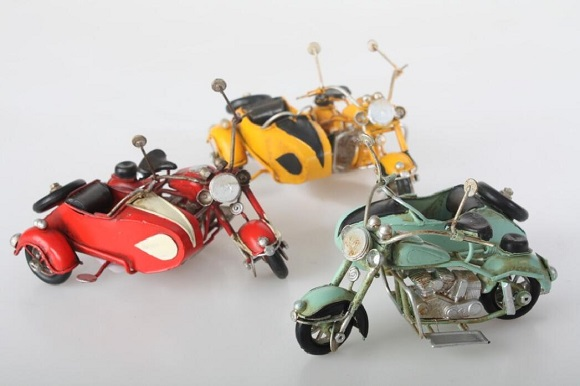 coche en miniatura decoración