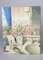 Cuadro estilo vintage, para el baño
