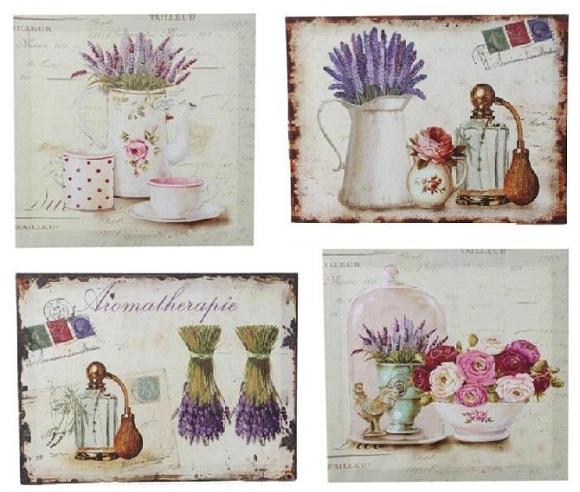 Decoraci n con estilo provenzal tienda de decoraci n - Laminas para cuadros de cocina ...