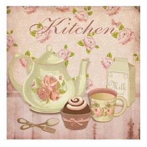 Cuadros decorativos de estilos romantico y provenzal for Cuadros cocina decoracion