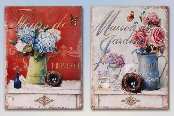 Cuadros vintage en tu tienda de decoraci n online tienda - Cuadros vintage para salon ...