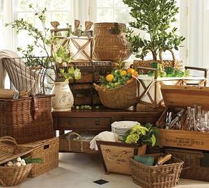 decorar con cestas de mimbre tienda de decoraci n online