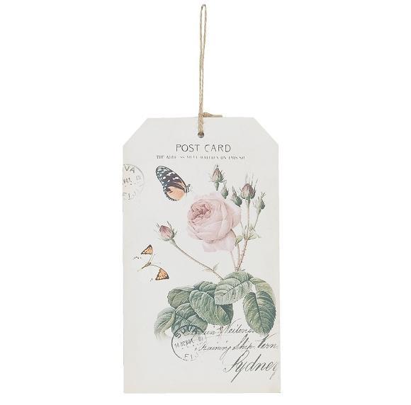 Etiquetas decorativas románticas