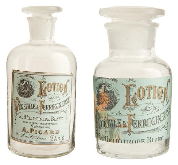 Frasco de perfumes