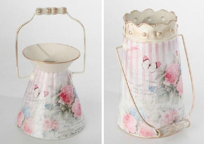 Lecheras de decoración vintage