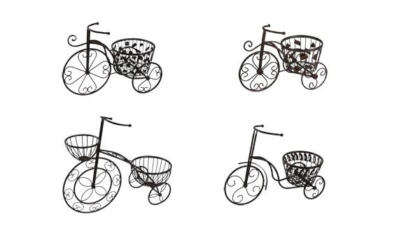 Decoraci n y complementos para tu jard n tienda de - Bicicleta macetero ...