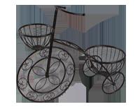 Macetero decorativo de metal