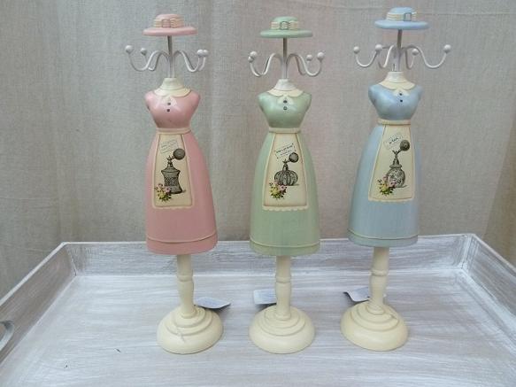 Maniquís o bustos decorativos