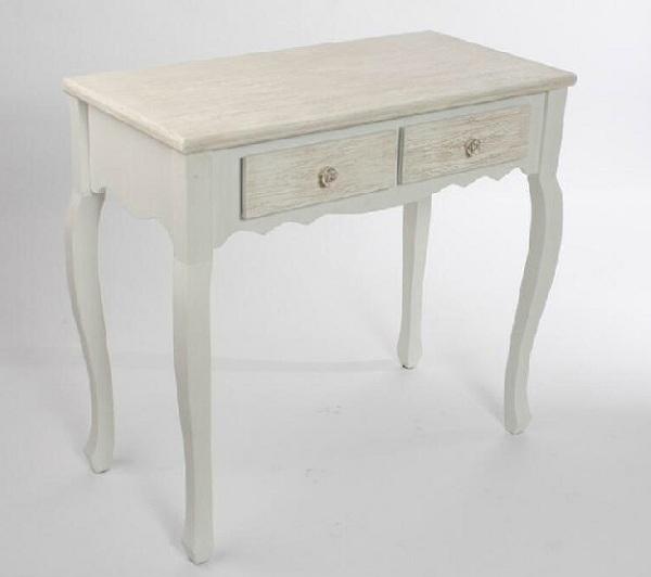 Mueble r stico provenzal decoraci n rom ntica o vintage for Muebles romanticos blancos