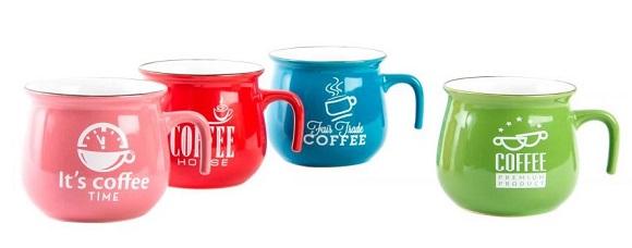 Taza para el té decorativa