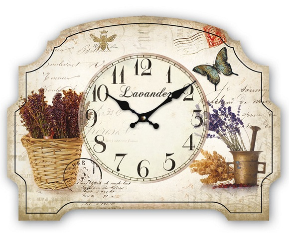 Reloj de pared estilo provenzal