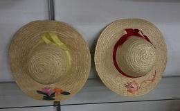 Sombrero de paja infantil