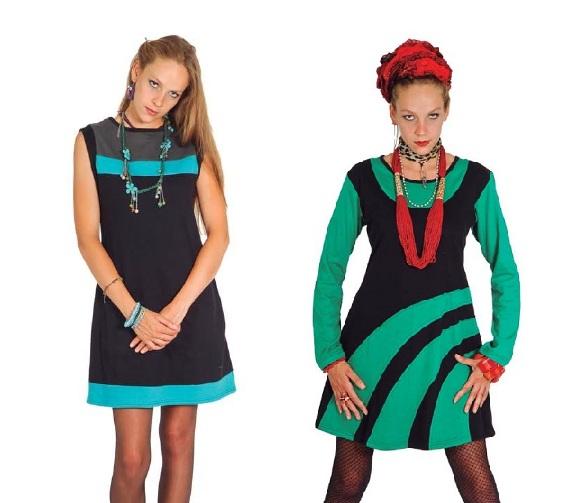 Vestido estilo étnico y juvenil