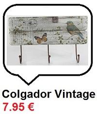 Colgador Vintage