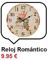 Reloj romántico
