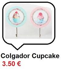 Colgador Cupcakes