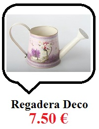 Regadora decorativa