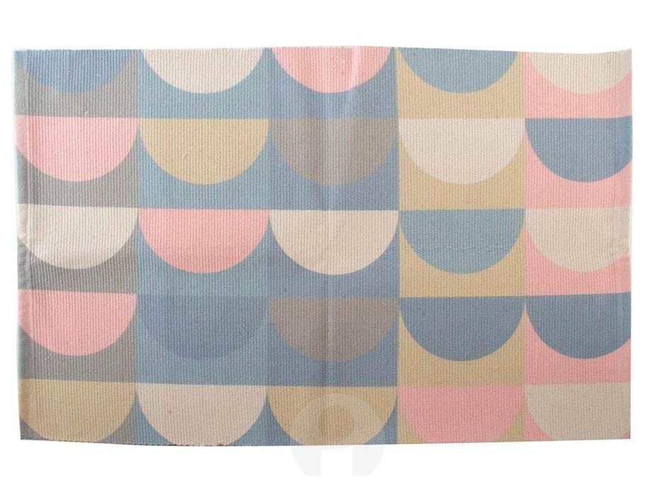 Comprar alfombra geom trica scandi 60x90 cm tx 138527 - Alfombras de algodon ...