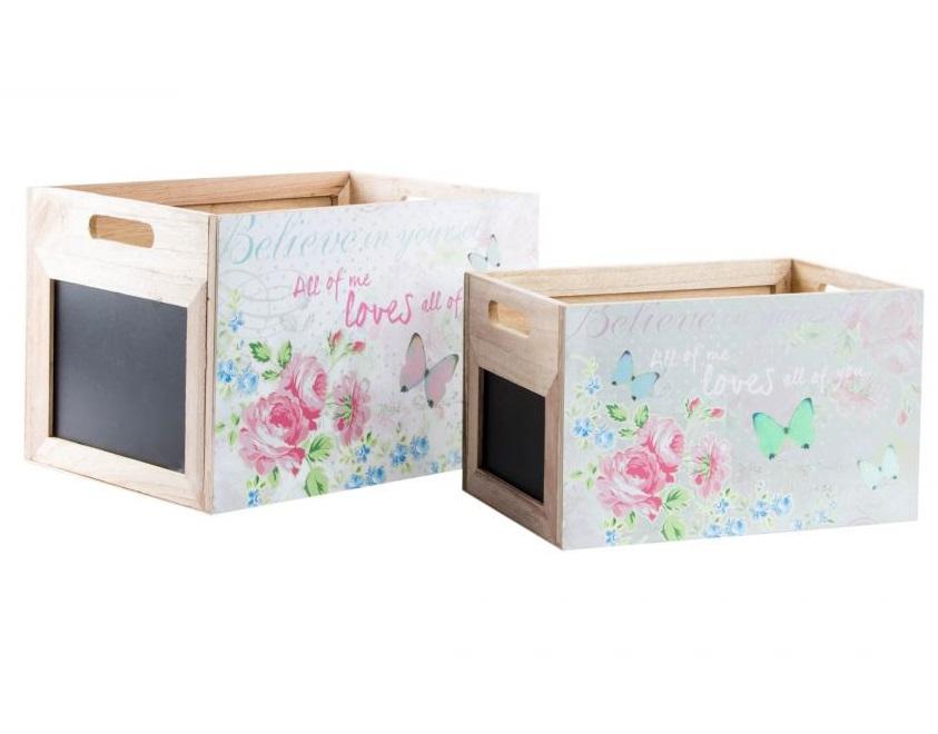 Comprar cajas de madera botes de metal cajas para el t - Cajas de decoracion ...