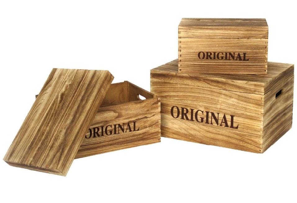 Comprar cajas de madera botes de metal cajas para el t y costureros tienda online birdikus - Cajas de madera online ...