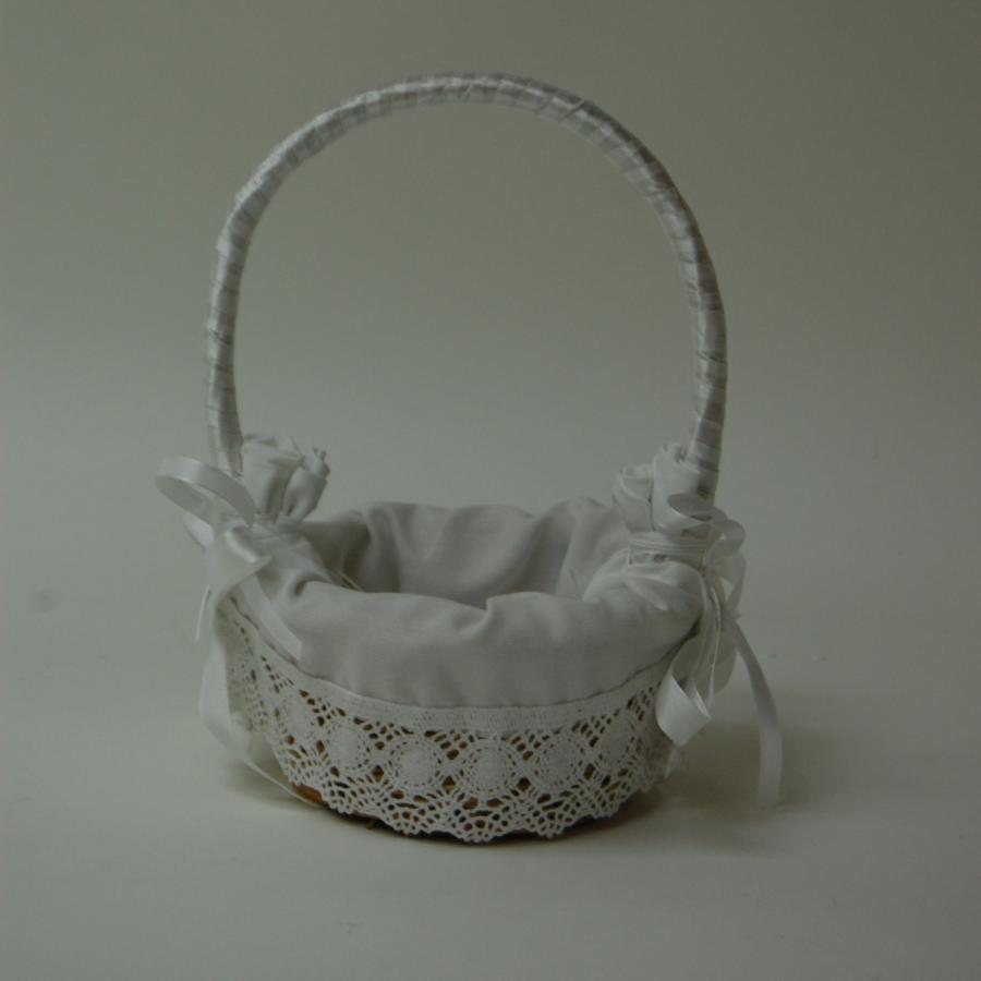Como forrar una cesta de mimbre para boda imagui - Como adornar una cesta de mimbre ...