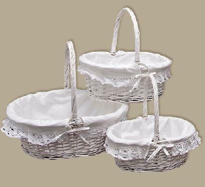 Comprar cestas de mimbre baratas y cestas para setas - Como decorar una cesta de mimbre ...