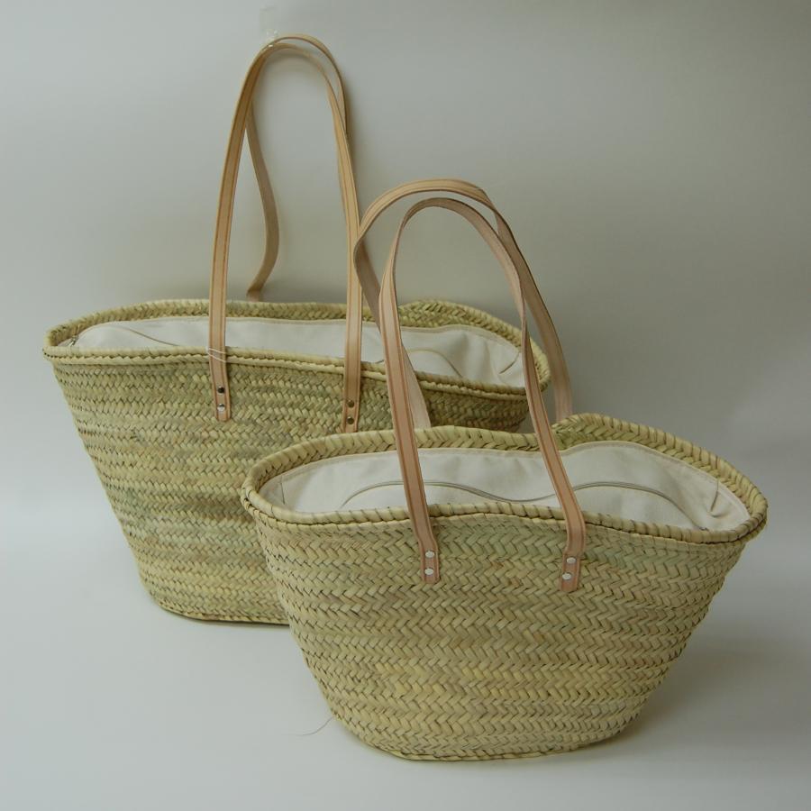 Bolsos cestas y capazos tienda barcelona birdikus - Capazos de mimbre decorados ...