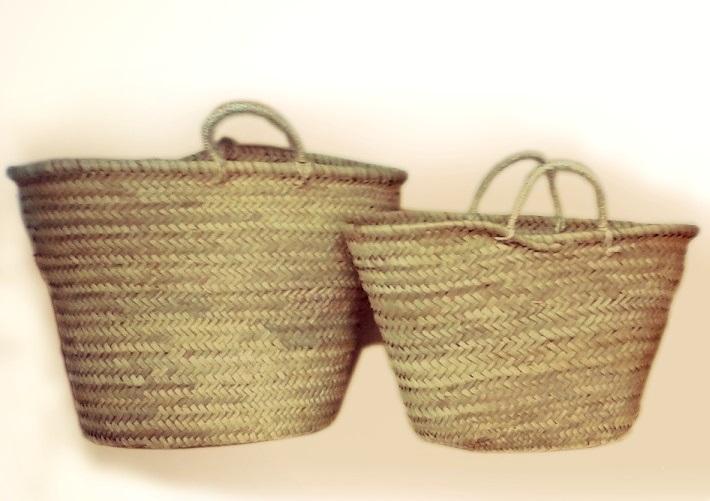 Comprar capazos de palma y le eros o cestas para la - Cestos de palma ...