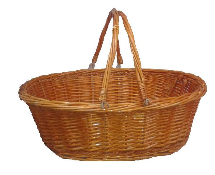 cesta de mimbre para lotes