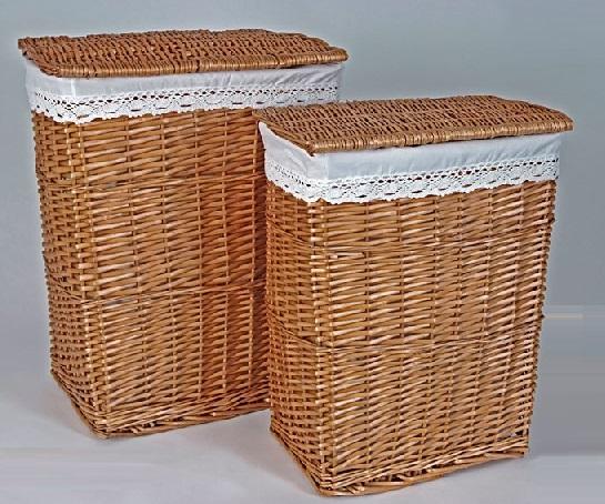 Comprar cestas para la ropa sucia o roperos y ba les de - Cesto ropa mimbre ...