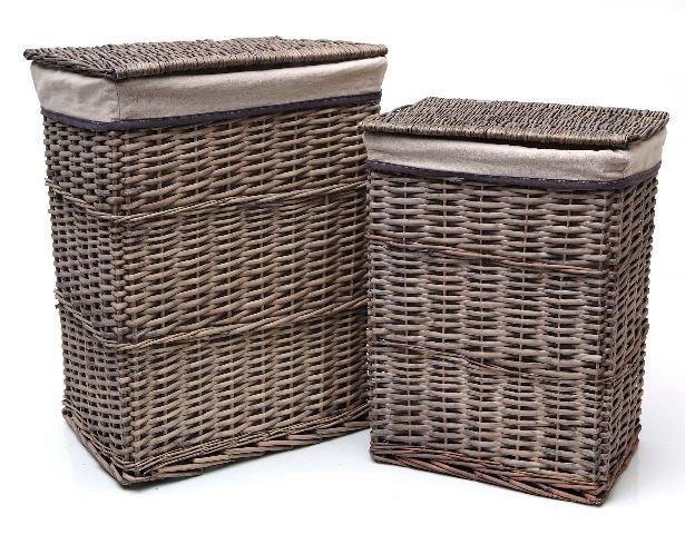 Cestos de mimbre para ropa sucia beautiful cestos with - Cestos de mimbre ...