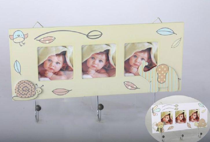 Comprar colgador infantil de madera animales 32x4x18 cm - Colgadores de pared de madera ...