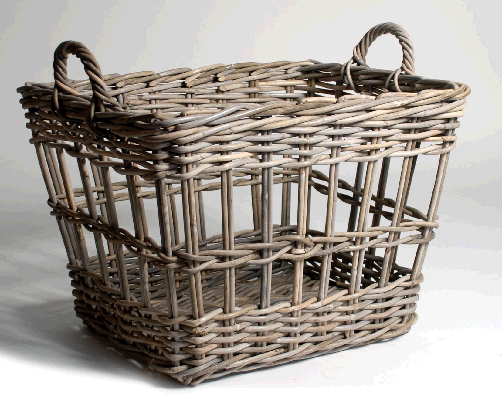 Comprar cestas para la ropa sucia o roperos y ba les de - Baules de mimbre ...