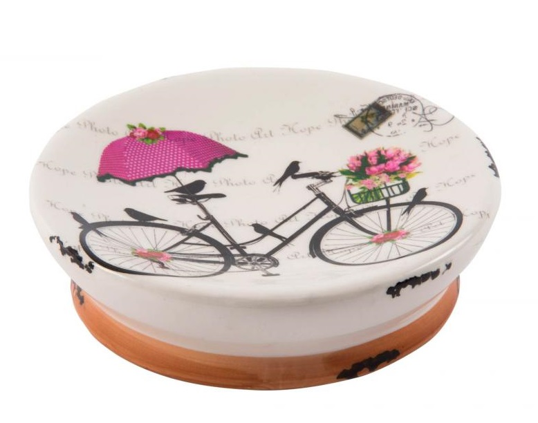 Set De Jabonera Para Baño:Comprar Jabonera de baño provenzal, Cerámica, 13×3 cm – PB-105501 en