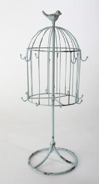 jaula de decoracin anillero
