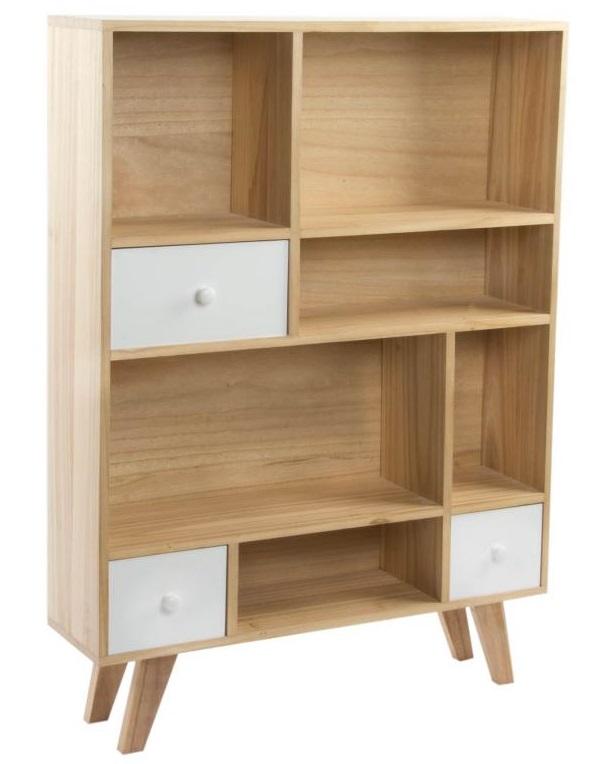 Mueble r stico n rdico escandinavo o rom ntico consolas for Estanterias estilo escandinavo