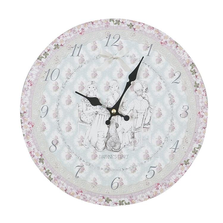 Comprar reloj de pared vintage rosas 34 cm re 117197 2 for Reloj pared retro