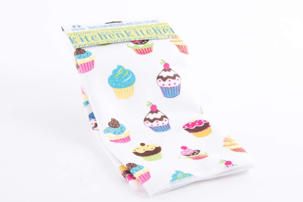 Comprar trapo de cocina cupcakes 38x63 cm lc 111932 y - Trapo de cocina ...